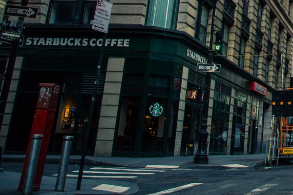 Crop Starbucks