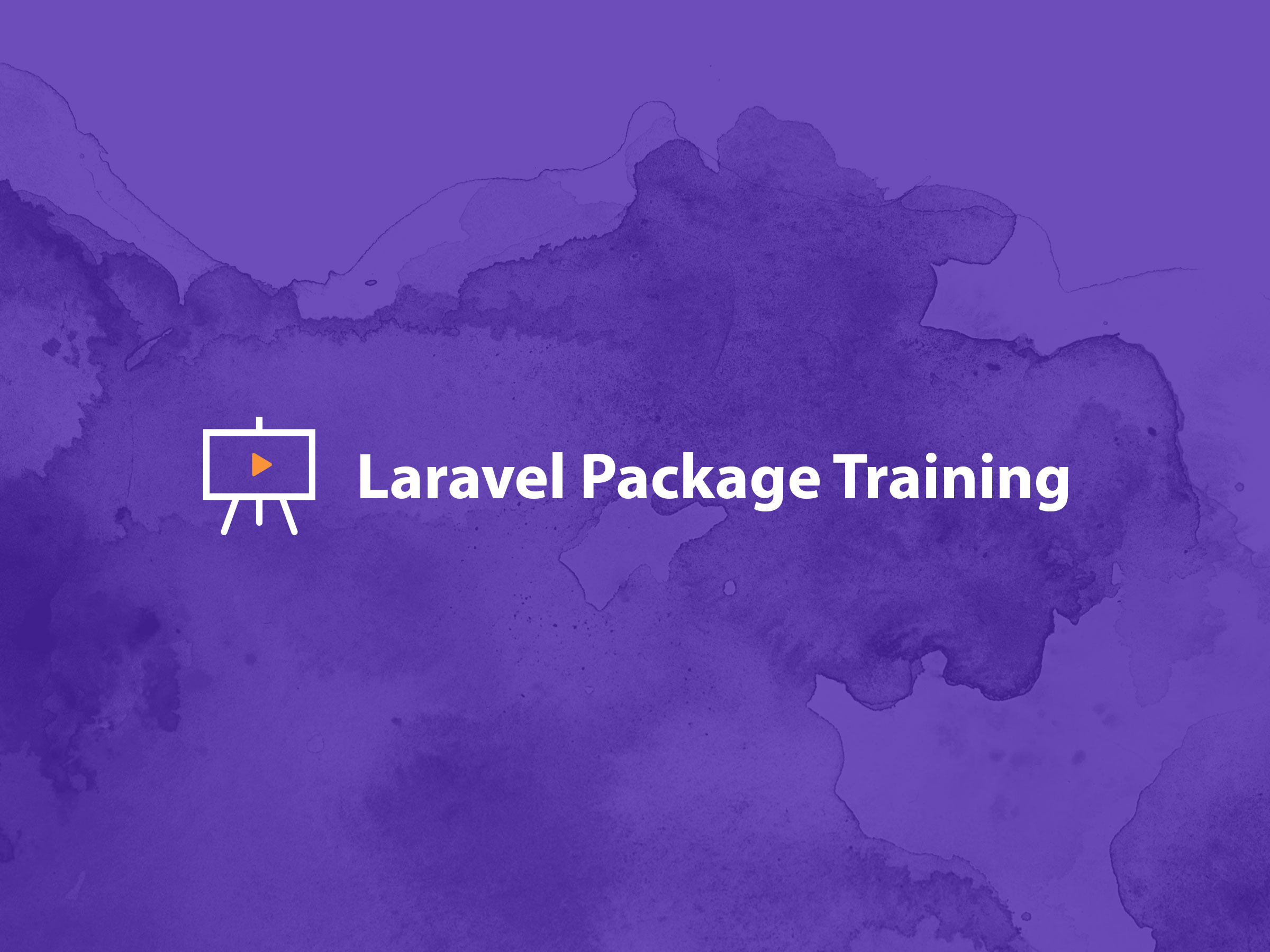 laravel-package-training